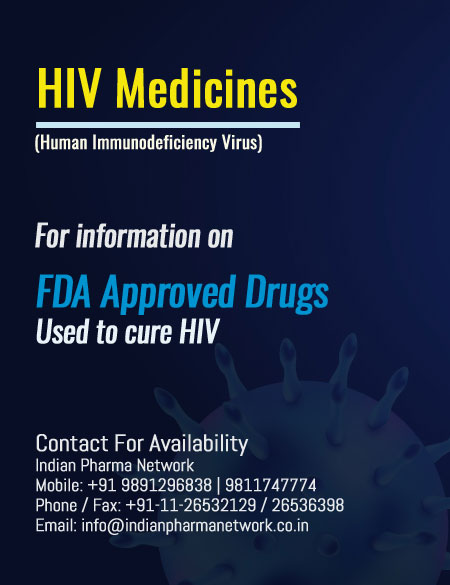 HIV Medicines available in India