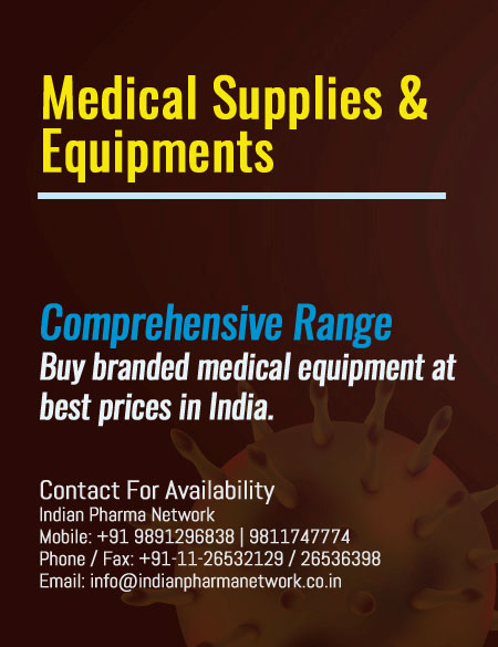 medical supplies and Equipments available in India