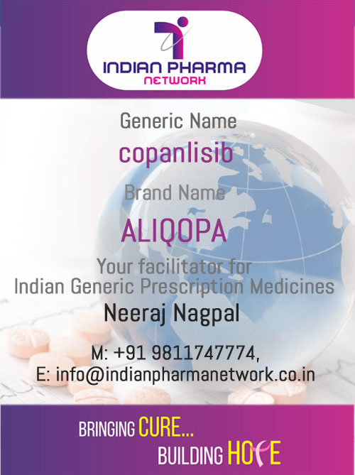 ALIQOPA (copanlisib) for injection)