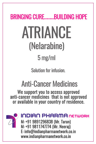 Atriance (nelarabine) Injection