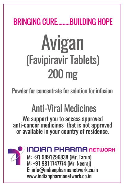 Prefav (Favipiravir) Tablets