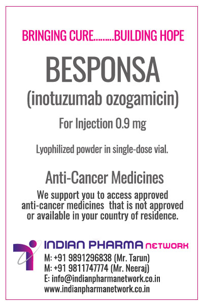 BESPONSA (inotuzumab ozogamicin) for injection