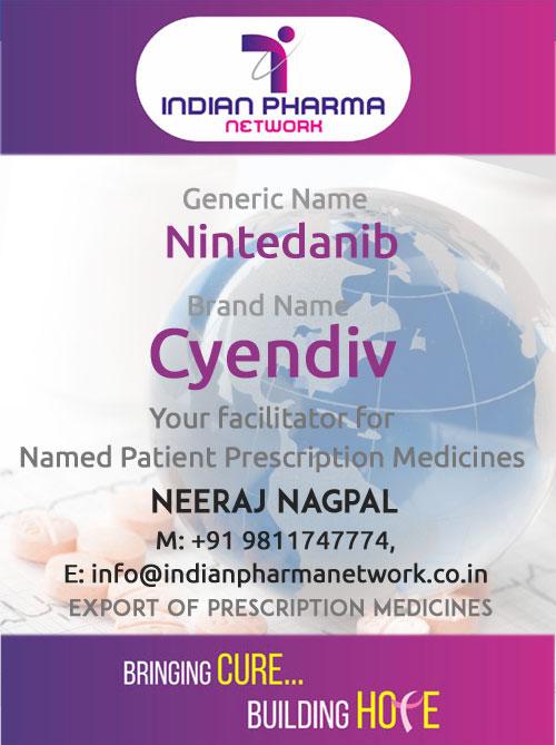Cyendiv (Nintedanib) Capsules
