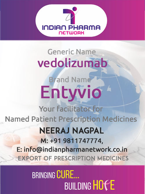ENTYVIO (vedolizumab) for injection