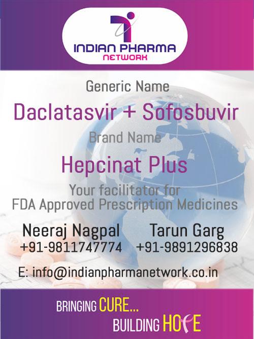 Hepcinat Plus (Daclatasvir + Sofosbuvir)