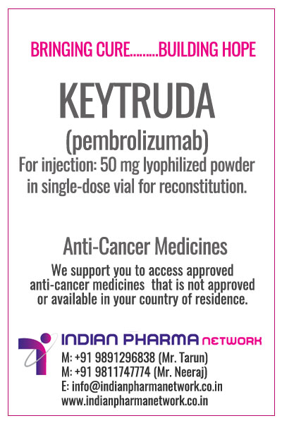 KEYTRUDA Price | Buy Generic Version Of pembrolizumab