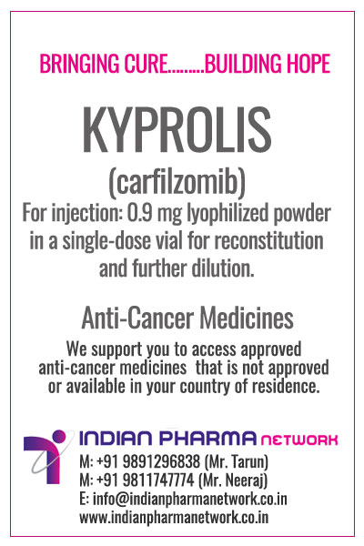 KYPROLIS (carfilzomib) for Injection