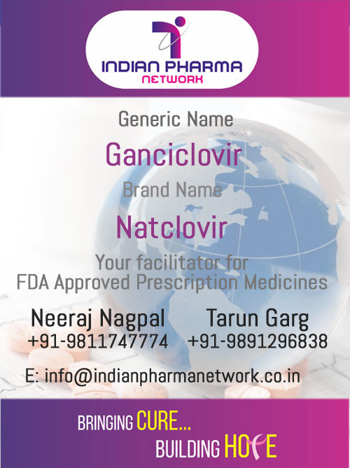 Natclovir (Ganciclovir) Injection)