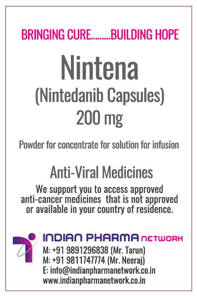 Nintena (Nintedanib) Capsules