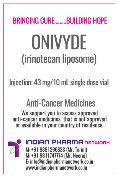 Onivyde (irinotecan liposome injection)
