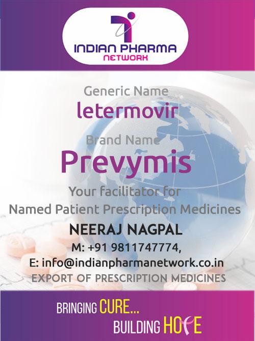 Prevymis Cost Buy Letermovir Price In India For Chd