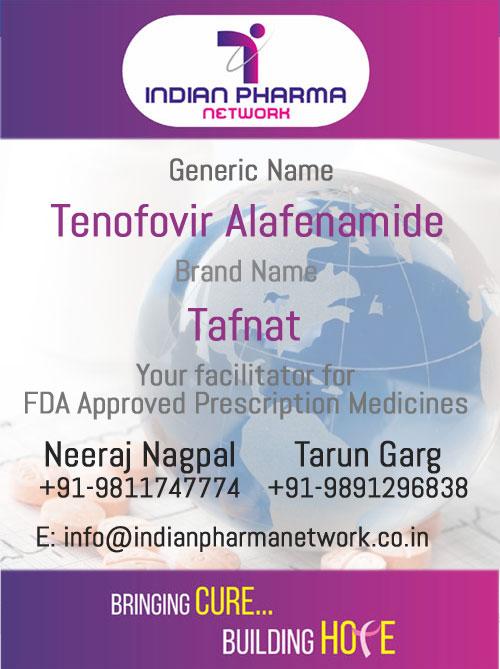 Tafnat (Tenofovir Alafenamide) Tablets
