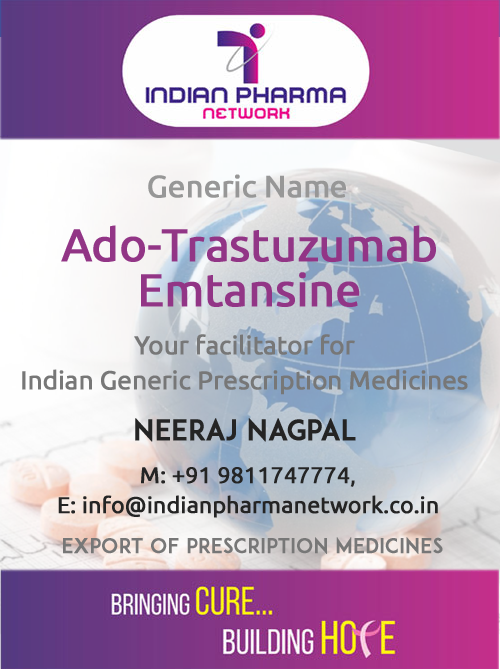 ado-trastuzumab emtansine for injection