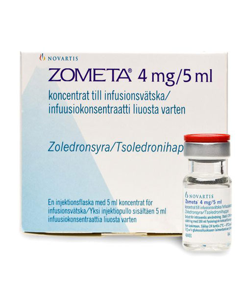 ZOMETA (zoledronic acid) Injection