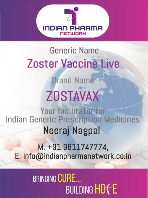 ZOSTAVAX Injection (Zoster Vaccine Live)