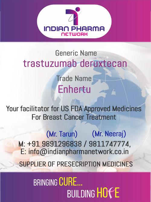 Enhertu (Trastuzumab Deruxtecan) injection