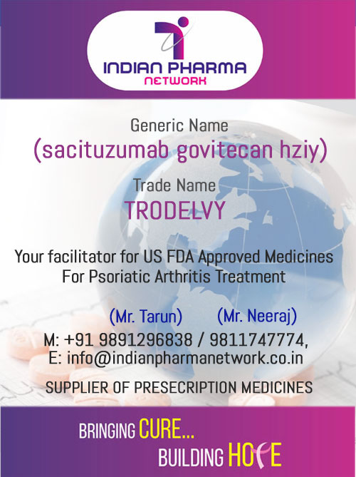 TRODELVY (sacituzumab govitecan-hziy) For Injection
