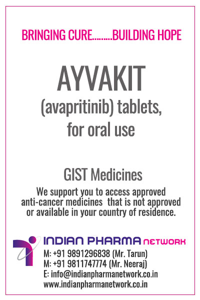 AYVAKIT (avapritinib)injection