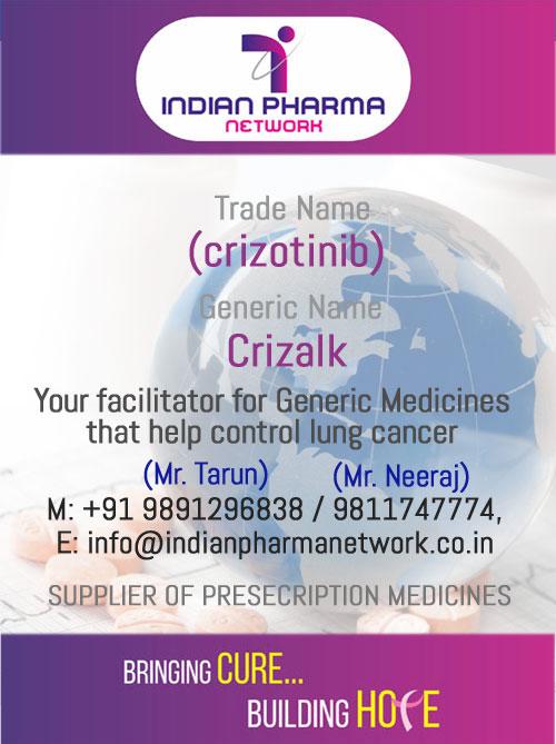 Crizalk (crizotinib)